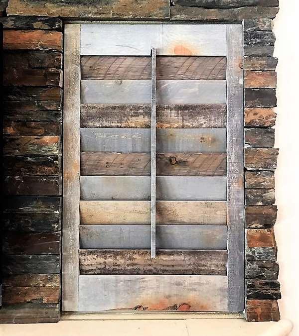 New Brunswick Recycled Wood Shutter