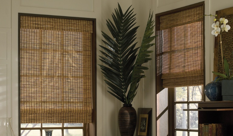 Camel woven shades in New Brunswick