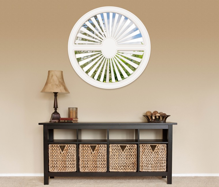 Circular Shutters in New Brunswick, NJ