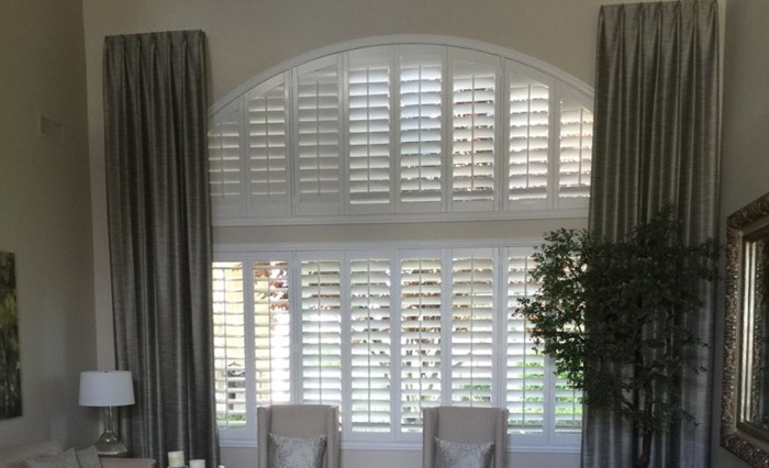 New Brunswick drapes and shutters.