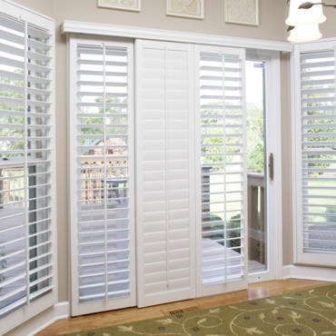 New Brunswick Sliding Patio Door Shutters