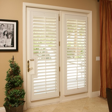 Patio French Door Shutters New Brunswick