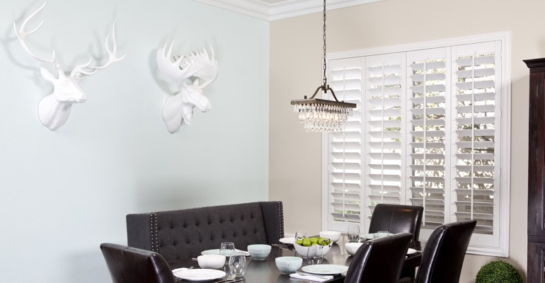 New Brunswick dining room shutters