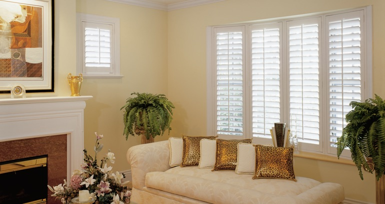 New Brunswick living room shutters