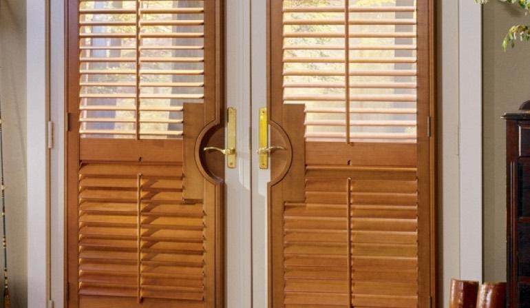 French Door Shutters In New Brunswick   Sunburst Shutters New ...