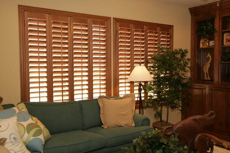 Ovation Shutters In A New Brunswick Living Room.
