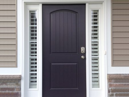 New Brunswick front door shutters