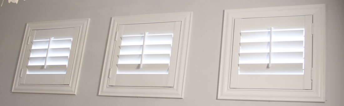 New Brunswick casement window shutter.